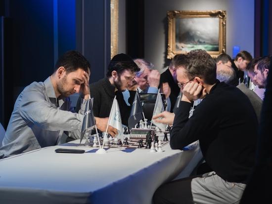 Финал шахматного турнира «Открытие Брокер» среди инвесторов и трейдеров (фотоотчёт)