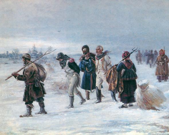 Генерал Мороз спасал Россию трижды