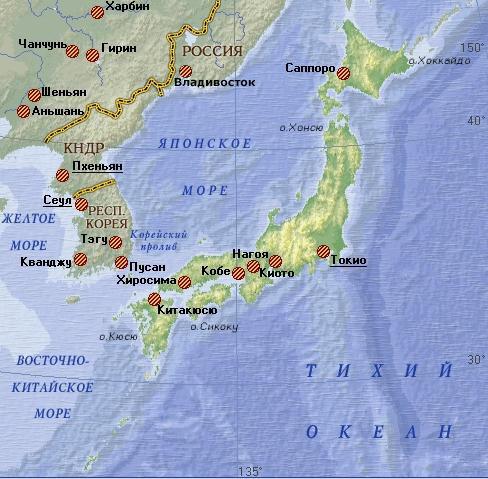 Владивосток или Япония: где холоднее?