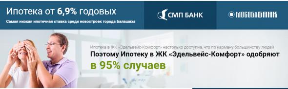 """Билдинг по-русски: Бетон всегда в цене-3 или ЖК """"Эделвейс"""" во всей красе под крышей СМП-банка"""