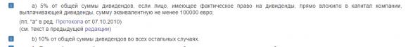 Бэнкинг по-русски: СИДН между РФ и Кипром - изменения...