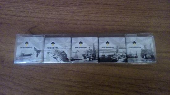 VIP шоколад от Роснефти