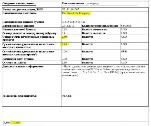 Как подать налоговую декларацию онлайн для дивидендов с акций США торгуемых на бирже СПБ?