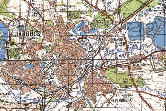 красный лиман старые карты фото продукции