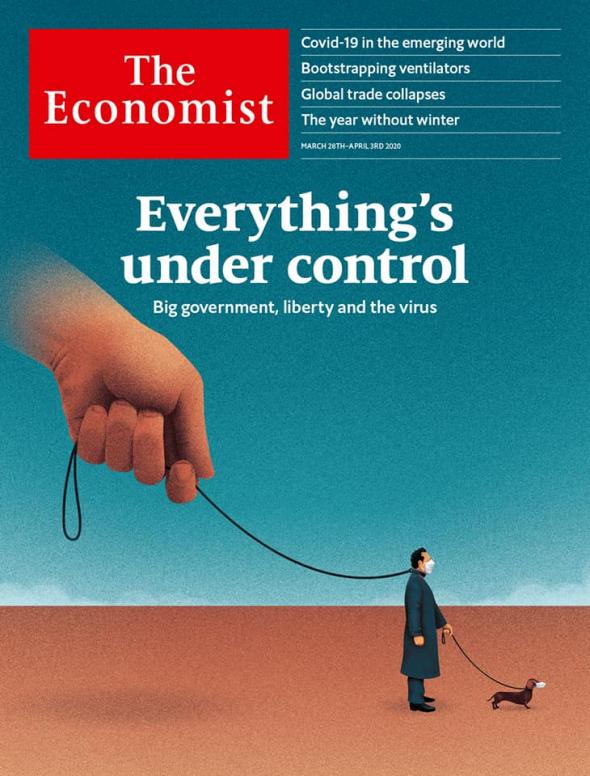 """Обложка журнала """"The Economist"""""""