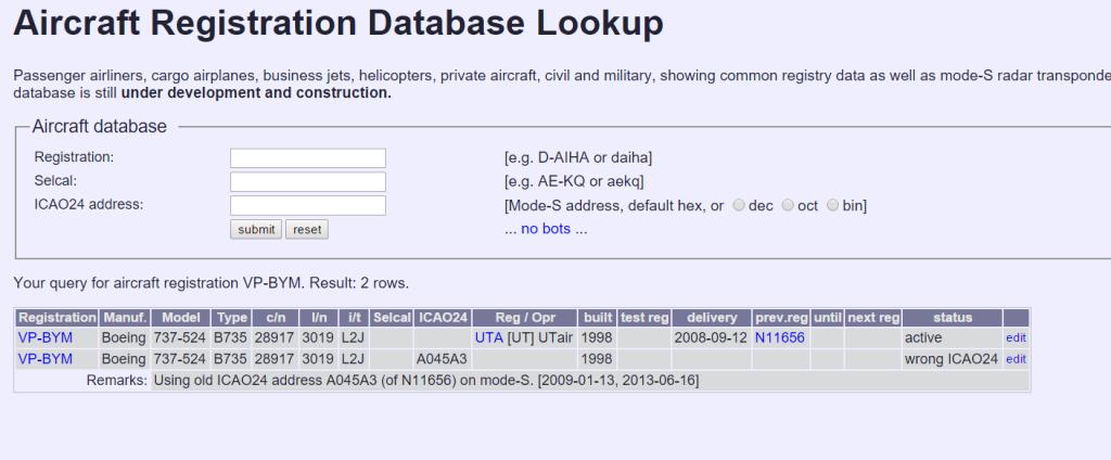 Как узнать database