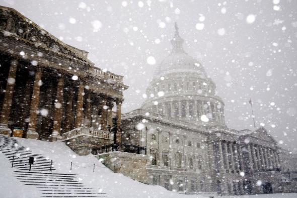 Байден перенес программную речь о внешней политике из-за снегопада
