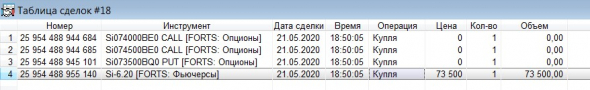 Разгон депо, опционы, СИшка, 21.05.2020.. экспирация..