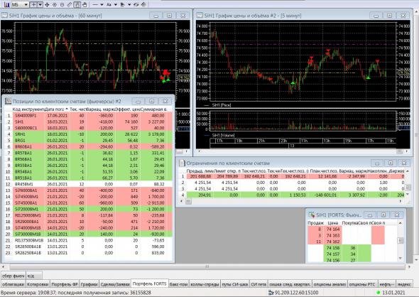 IIS portfolio: 01/13/2021 ..