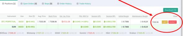 Новые функции на бирже Deribit