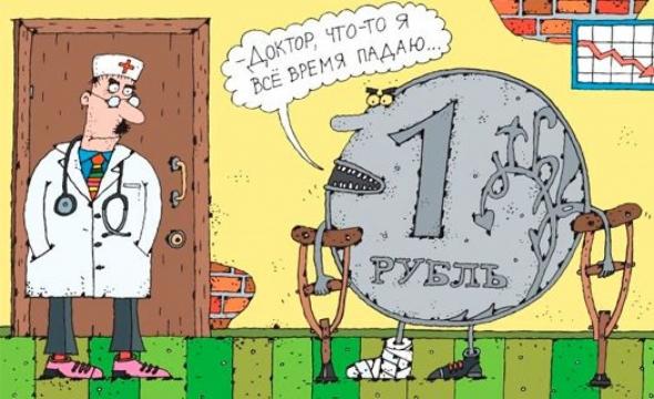 Bloomberg: Коронавирус принесет россиянам доллар по 100 рублей