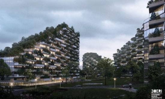 """Китай начал строительство первого в мире """"Лесного города"""""""