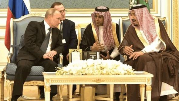 Трамп хочет победы? Нагнёт Саудитов, нефть вверх.(4)