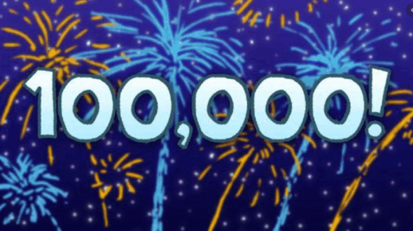 Поздравляю смарт-лаб, сейчас нас будет 100 000!