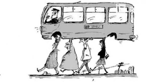 Безумие и в транспорте.