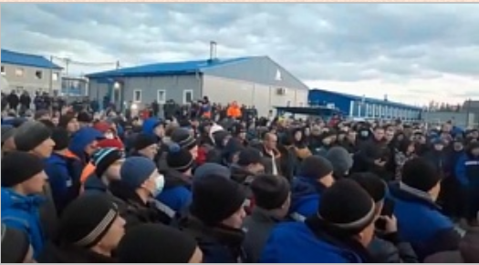 Рабочие устроили бунт на Чаяндинском месторождении на базе «Газпрома» для «Силы Сибири»