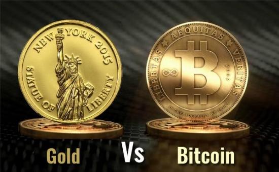 Биткоин начинает пожирать рынок золота