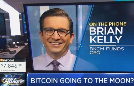 Брайан Келли: «Уолл-стрит поможет Биткоину взлететь на новые высоты»