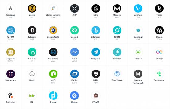 Coinbase Custody хотят добавить 37 новых криптовалют и токенов