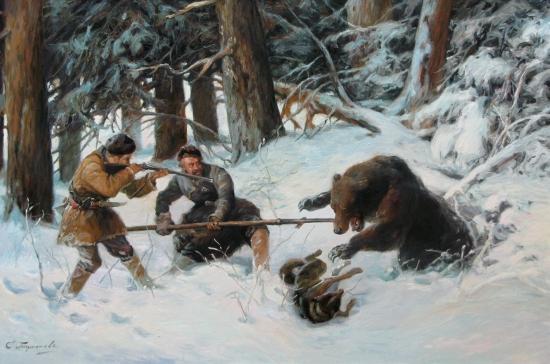 Завалили Газпромовского медведя!