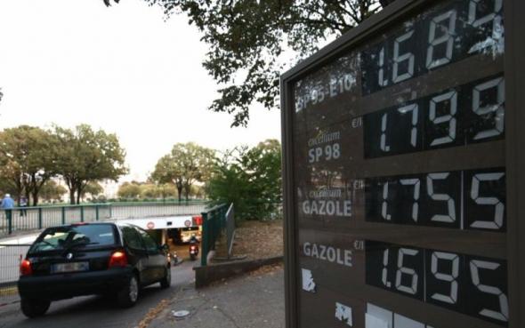 Литр бензина за 2 евро ?