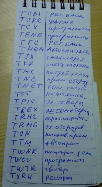 для торгующих на СПб