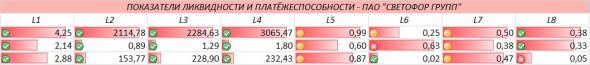 """Каким цветом горит """"Светофор Групп""""? Финансовый анализ предприятия"""