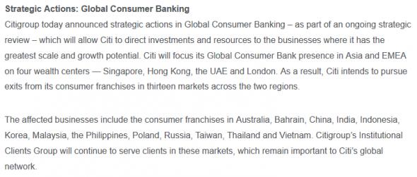 Citigroup сматывает удочки. Что будет с пополнением счета в IB через них?