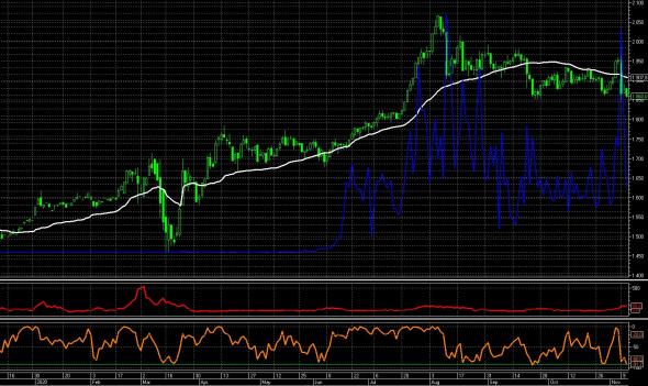 Акции Мосбиржи как индикатор рынка. Обзор: акции, рубль, нефть, золото.