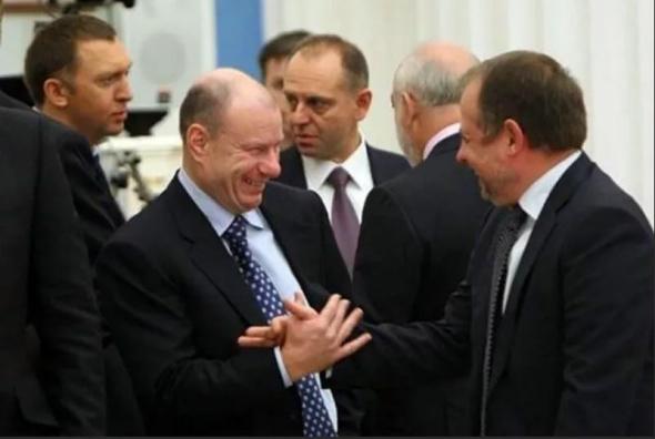 Владимир Потанин и Владимир Лисин